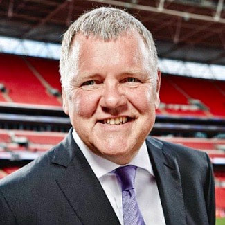 Clive Tyldesley TV Football Commentator ITV Sport