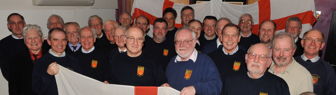 Cotswold Male Voice Choir Let's Hear It England World Cup Song
