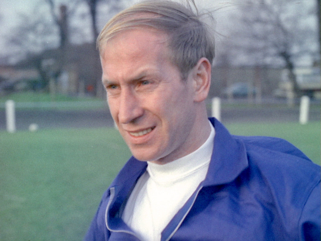Bobby Charlton England Football Team 1966